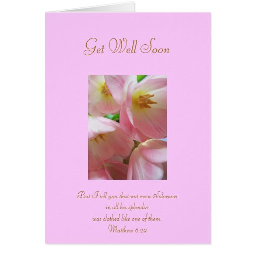 Get Well Scripture Quotes: Get Well Soon With Scripture Verse Greeting Cards