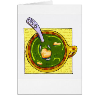 """""""get well soup"""" card"""