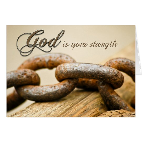 Get Well Strength Card