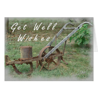 Get Well Wishes-customize Card