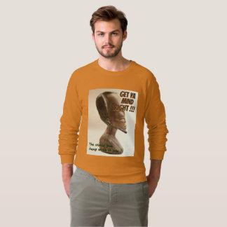 Get ya Mind right Camel Orange sweatshirt