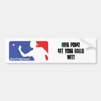 Get Your Balls Wet Bumper Sticker