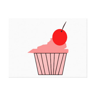 Get your Delicious Cupcake style on. Canvas Print