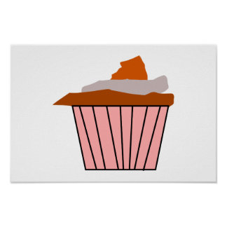 Get your Delicious Cupcake style on. Poster