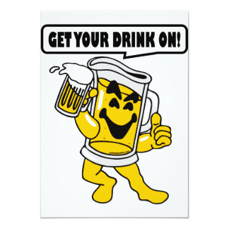 GET YOUR DRINK ON CARD