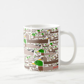 get your ducks in a row coffee mug