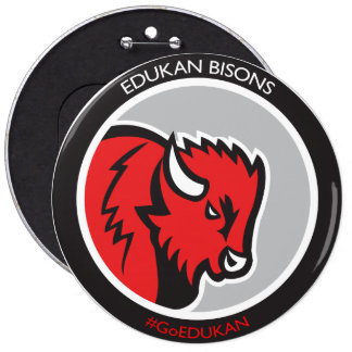 Get your EDDIE the BISON 6 button from EDUKAN