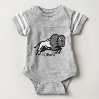 Get your EDDIE the BISON Baby Romper from EDUKAN