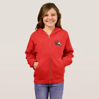 Get your EDDIE the BISON girls zip sweatshirt