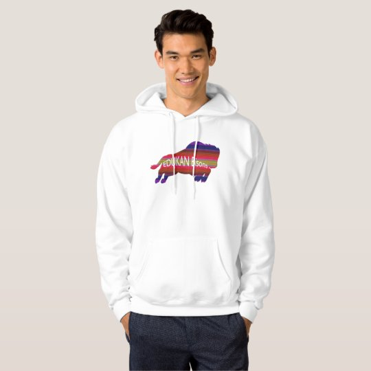 Get your EDDIE the BISON hooded sweat shirt