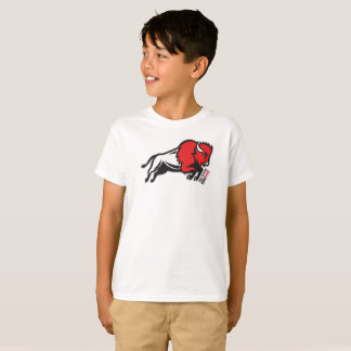 Get your EDDIE the BISON kids t-shirt from EDUKAN