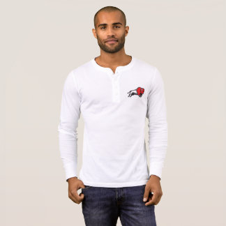 Get your EDDIE the BISON Men's Long Sleeve Henley T-Shirt