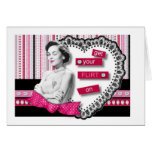 Get Your FLIRT On Greeting Card