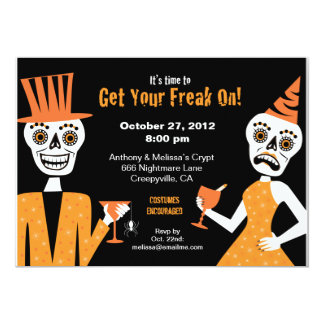 Get Your Freak On - 5x7 Card
