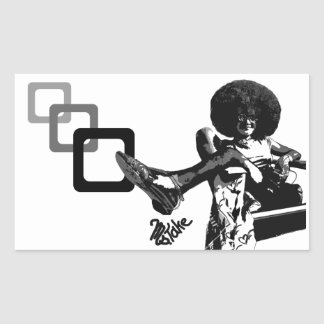 Get Your Fro On! Graffiti by Ms.Take Sticker