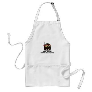 Get Your Game Face On (Ninja) Standard Apron