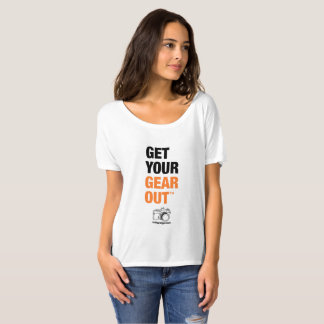 """""""Get Your Gear Out"""" Women's Tee"""