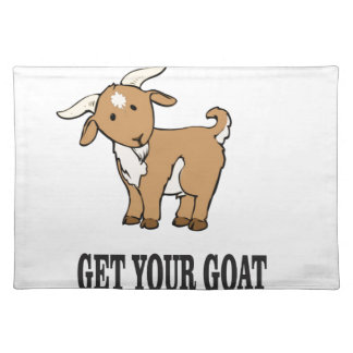 get your goat joke placemat