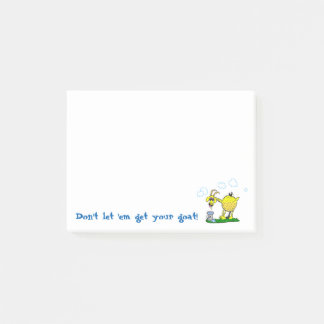 Get Your Goat Sticky Notes