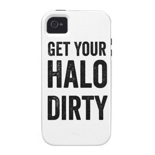 Get your halo dirty vibe iPhone 4 cover