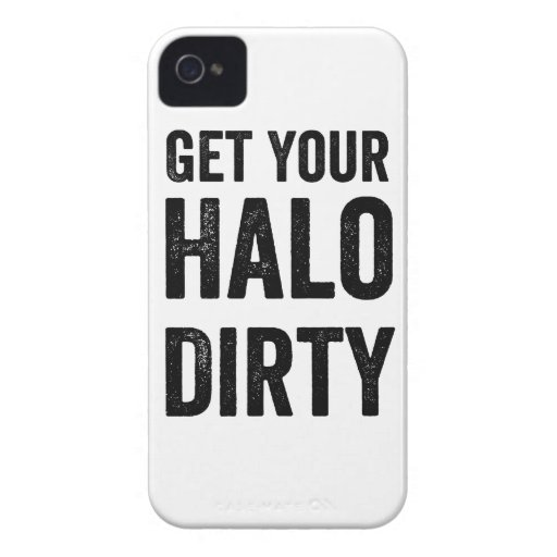 Get your halo dirty iPhone 4 case