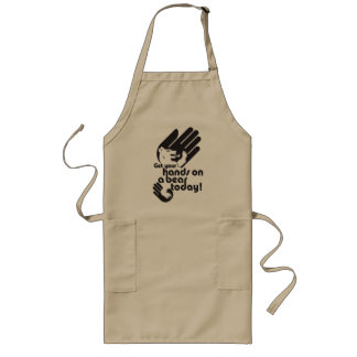 Get your hands on a bear today long apron