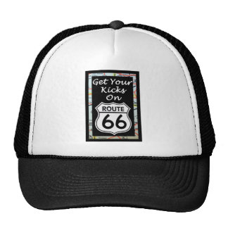 Get Your Kicks On Route 66 With Map Trucker Hat