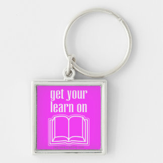 Get Your Learn On Key Chain