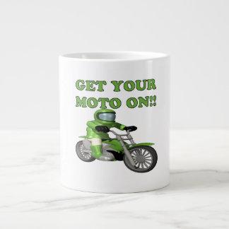 Get Your Moto On Extra Large Mug