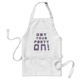 Get Your Party On Aprons