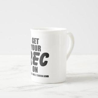 Get Your Rec On - Bone China Mug
