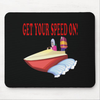 Get Your Speed On Mouse Pad