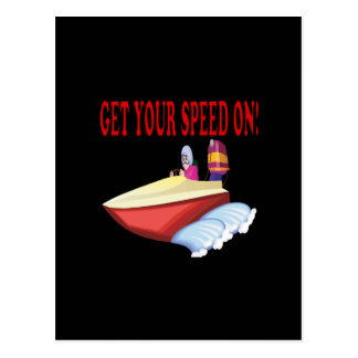 Get Your Speed On Postcard