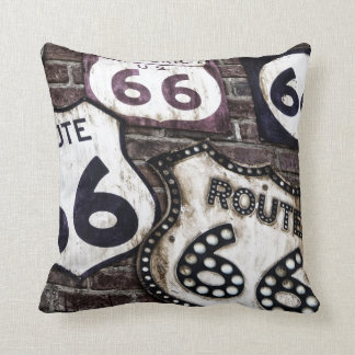 Get your stamps on Route 66 ! Throw Pillow