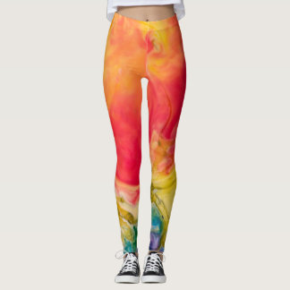 Get Your Swirl On Leggings