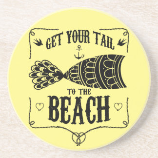 Get your tail to the beach coaster