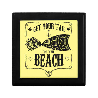 Get your tail to the beach keepsake boxes
