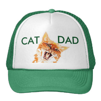 Get YOUR very own Cat Dad Hat now!