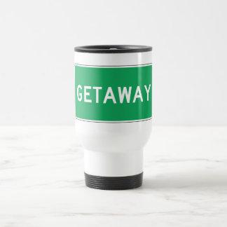 Getaway, Road Marker, Ohio, USA Mug