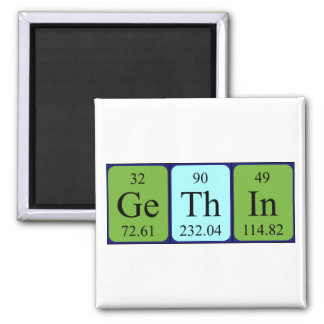 Gethin periodic table name magnet
