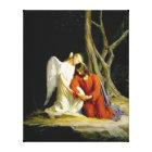 Gethsemane by Carl Heinrich Bloch 1805 Canvas Print
