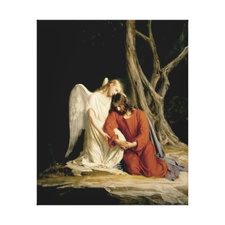 Gethsemane Digitally Restored Canvas Print