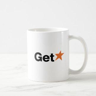 GetStar (Orange) Classic White Coffee Mug