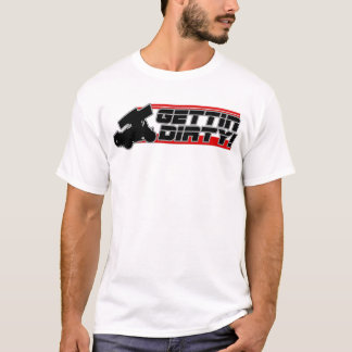 Gettin Dirty Sprint Car T-Shirt
