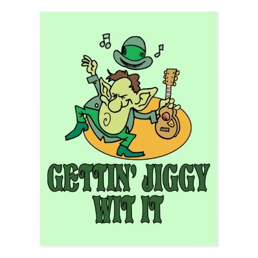 Gettin' Jiggy Wit It Postcards