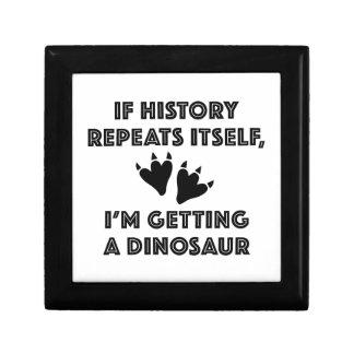 Getting A Dinosaur Gift Box