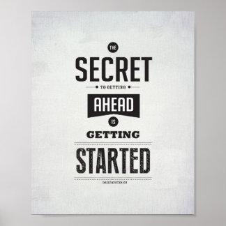 "Getting Ahead.  - 8""x10"" Art Print"