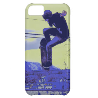 Getting Air - Skateboarder Cover For iPhone 5C