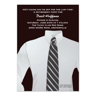 """Getting Down to Business 5"""" X 7"""" Invitation Card"""