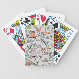 getting dressed bicycle playing cards